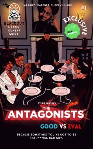 , REVIEW: The Antagonists #1, The Indie Comix Dispatch