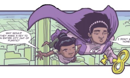 Glamorella's Daughter Flies into Comic Shops Nationwide This July
