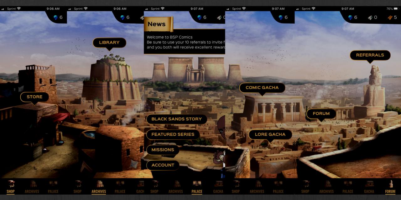 Black Sands Launches Comic App