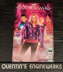 , REVIEW: Doctor Who Comic #1, The Indie Comix Dispatch