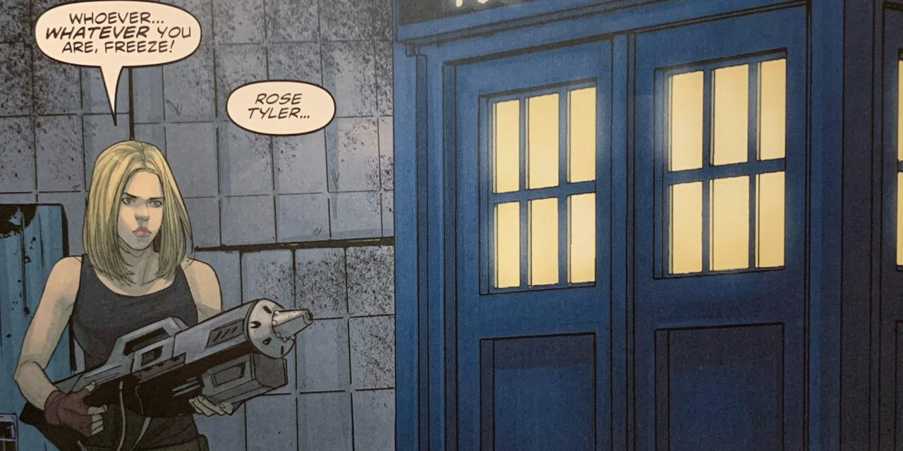 REVIEW: Doctor Who Comic #1
