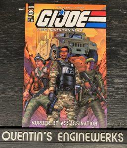 indie comic reviews, REVIEW: G.I. Joe: ARAH #281, The Indie Comix Dispatch