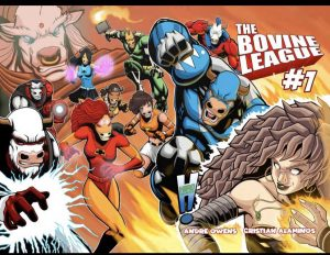 , REVIEW: Bovine League #1, The Indie Comix Dispatch