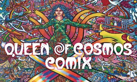 QUEEN OF COSMOS COMIX HIGHLIGHTED IN THE CURRENT ISSUE OF INTERNATIONAL JOURNAL OF COMIC ART