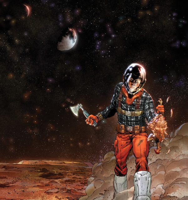 """Scout Comics takes the tagline """"Lost in Space"""" to all new levels with REDSHIFT."""