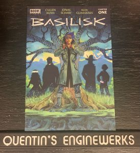 indie comic reviews, REVIEW: Basilisk #1, The Indie Comix Dispatch