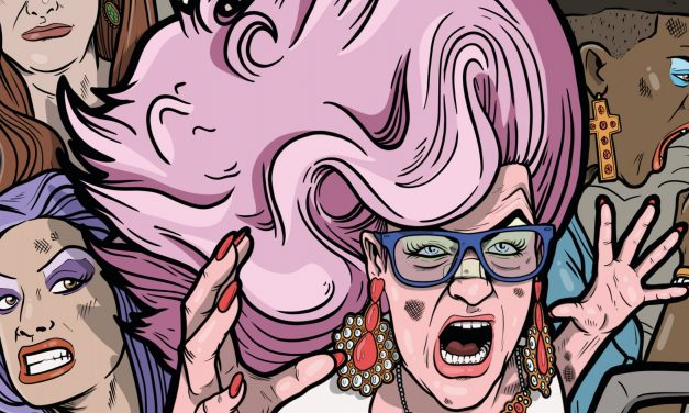 LGTBQIA Comedic/Sci-Fi Action Comic Teases Next Installment with Pride Month Cover