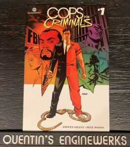 Indie Comic Reviews, REVIEW: Cops for Criminals #1, The Indie Comix Dispatch