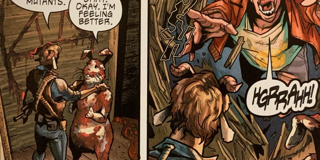 REVIEW: Mangoat and Bunnyman #1