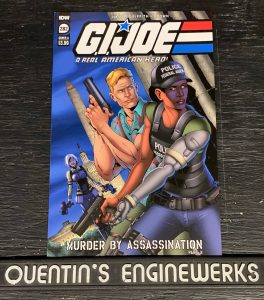 indie comic reviews, REVIEW: G.I. Joe: A Real American Hero #282, The Indie Comix Dispatch