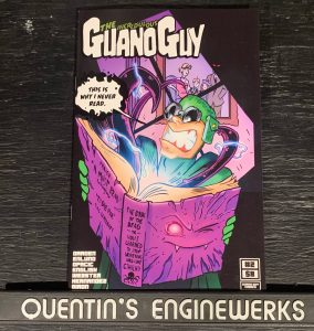 indie comic reviews, REVIEW: The Incredulous Guano Guy #2, The Indie Comix Dispatch