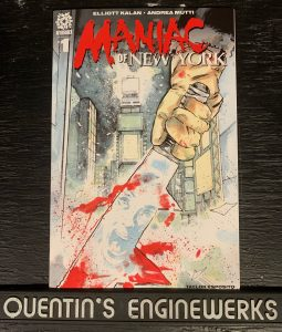 indie comic reviews, REVIEW: Maniac of New York #1, The Indie Comix Dispatch