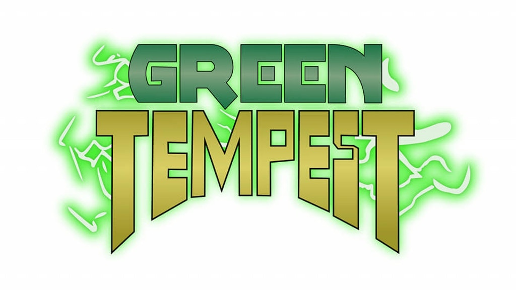 42% to Funding goal in less than 3 hours – Green Tempest #1 Kickstarter Launch!