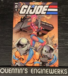 indie comic reviews, REVIEW: G.I. Joe: A Real American Hero #283, The Indie Comix Dispatch