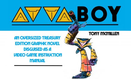 Attaboy, An Oversized Comic Disguised as a Video Game manual