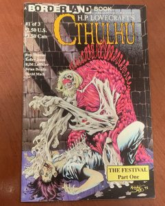 indie comic reviews, REVIEW: H.P. Lovecraft's Cthulhu #1, The Indie Comix Dispatch