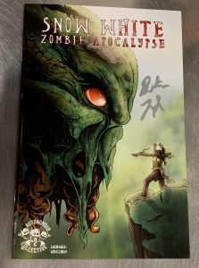 indie comic reviews, REVIEW: Snow White: Zombie Apocalypse #2, The Indie Comix Dispatch