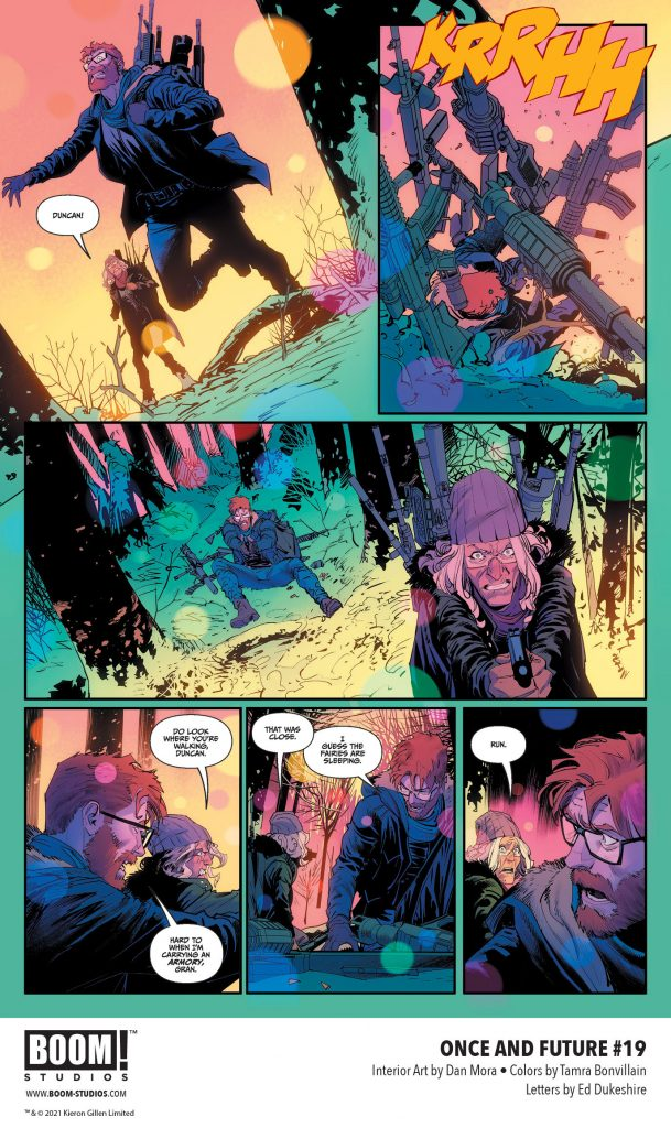 , All Hope Lost in Brand New Story Arc of ONCE & FUTURE, The Indie Comix Dispatch