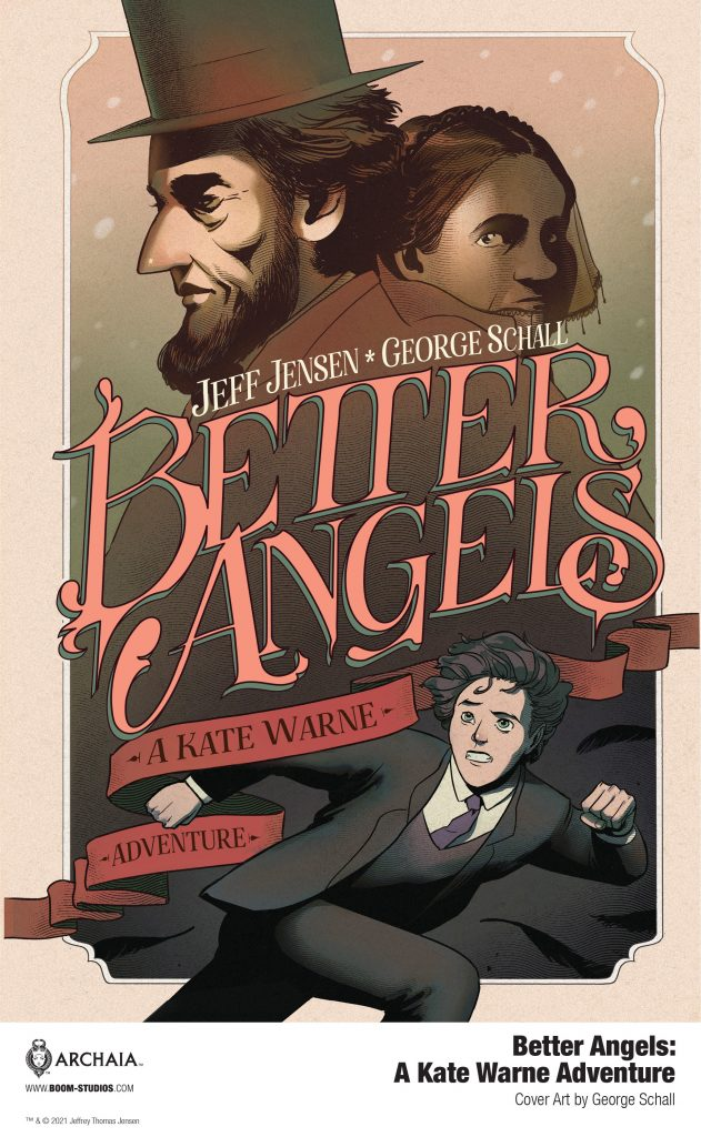 Indie comic news, A New Look at America's First Woman Detective in BETTER ANGELS, The Indie Comix Dispatch