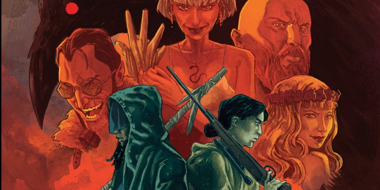 Cullen Bunn and Jonas Scharf's BASILISK #2 Sells Out and Returns with New Printing
