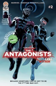 Indie comic reviews, REVIEW: The Antagonists #2, The Indie Comix Dispatch