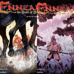indie comic reviews, REVIEW: Ennead; The Rule of Nine 01-02 / A Hunt Such as This / A Heart that Wanders, The Indie Comix Dispatch