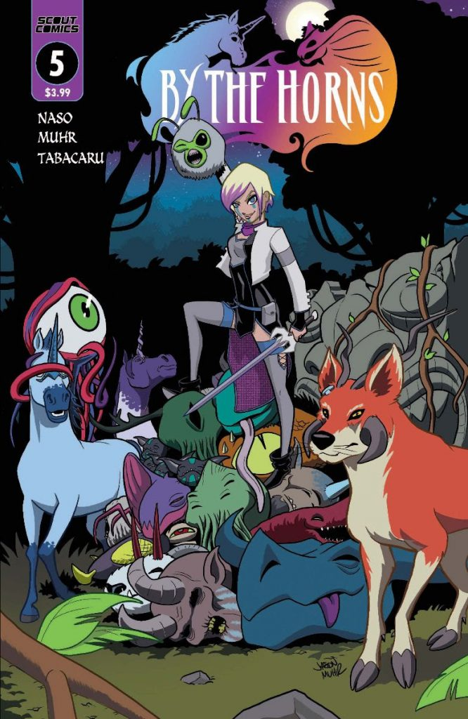 , SCOUT COMICS UPGRADES BY THE HORNS  TO CONTINUING SERIES, The Indie Comix Dispatch