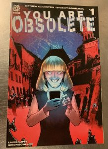 indie comic reviews, REVIEW: You are Obsolete #1, The Indie Comix Dispatch