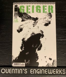indie comic reviews, REVIEW: Geiger #2, The Indie Comix Dispatch