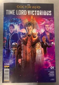 indie comic reviews, REVIEW: Doctor Who: Time Lord Victorious #1, The Indie Comix Dispatch
