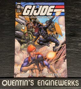 indie comic reviews, REVIEW: G.I. Joe: ARAH #284, The Indie Comix Dispatch