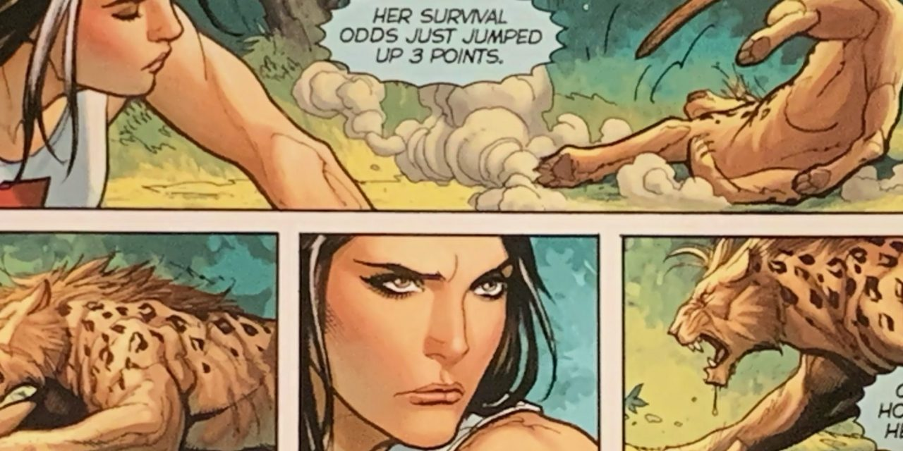 REVIEW: Fight Girls #1