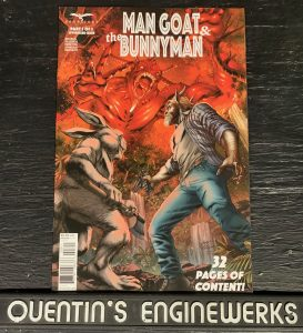 indie comic reviews, REVIEW: Man Goat and the Bunnyman #3, The Indie Comix Dispatch