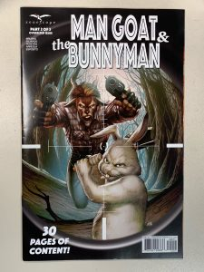 indie comic reviews, REVIEW: Man Goat and Bunnyman #2, The Indie Comix Dispatch