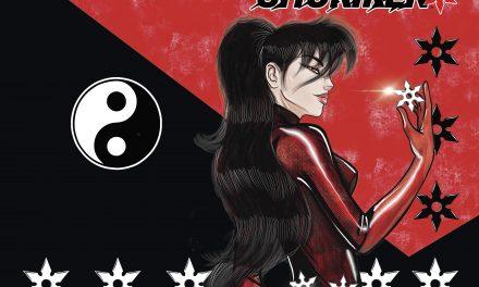 Reggie Byers' SHURIKEN! The Return of the 1980's Manga Inspired Series