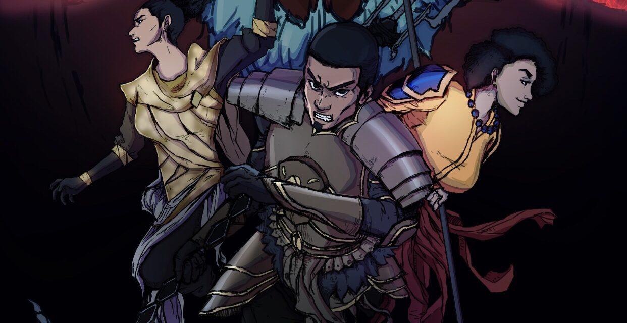Black Spartans Manga Launches Chapter 2 on Kickstarter