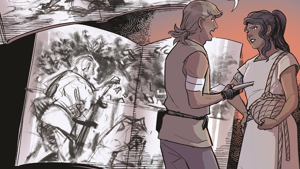 FIRST LOOK: AN EMBER IN THE ASHES Graphic Novel