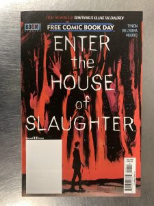 , REVIEW: Enter the House of Slaughter FCBD, The Indie Comix Dispatch