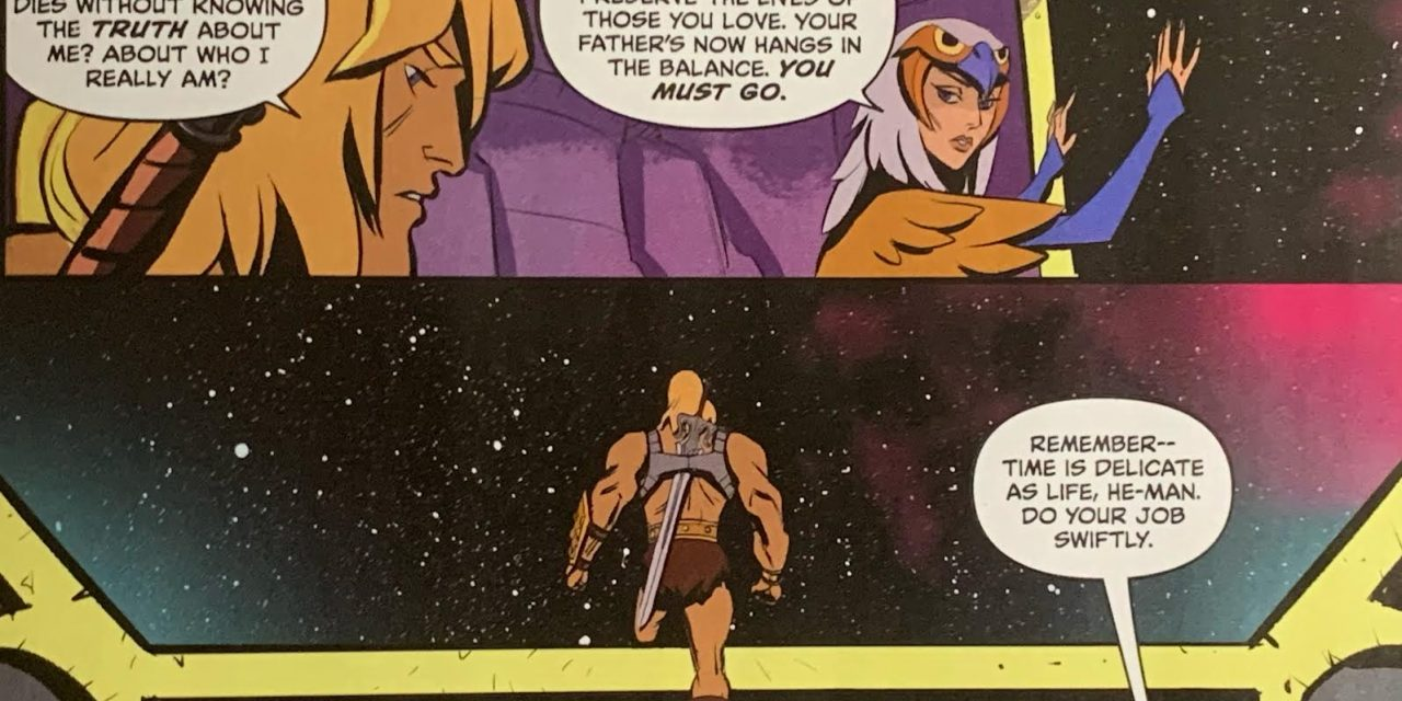 REVIEW: Masters of the Universe: Revelation #1
