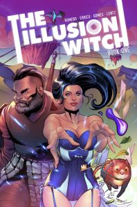Indie comic reviews, REVIEW: The Illusion Witch Book One, The Indie Comix Dispatch