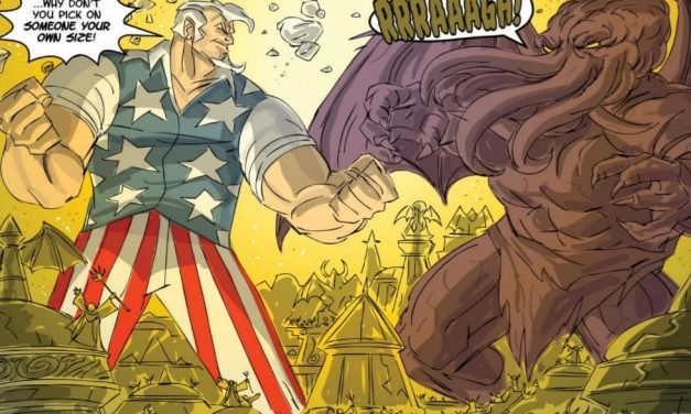 REVIEW: Cthulu Vs. Uncle Sam