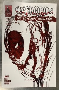 , REVIEW: Oxymoron: The Loveliest Nightmare #1, The Indie Comix Dispatch