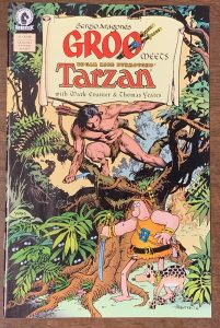 Indie comic reviews, REVIEW: Groo Meets Tarzan #1, The Indie Comix Dispatch