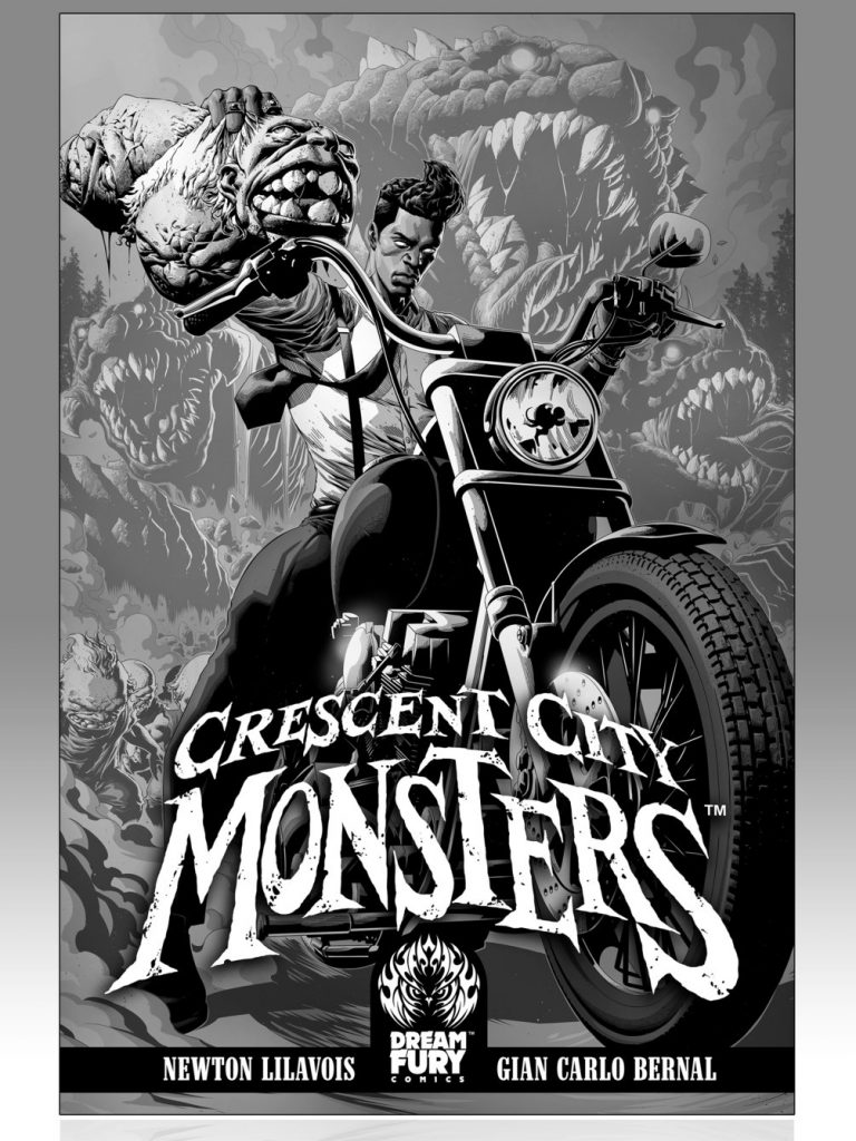 , Gerard McMurray shopping award-winning Crescent City Monsters to movie studios, The Indie Comix Dispatch