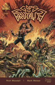Indie comic reviews, REVIEW: Gods of Brutality #1, The Indie Comix Dispatch