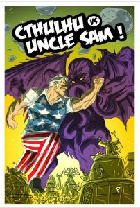 Indie comic reviews, REVIEW: Cthulu Vs. Uncle Sam, The Indie Comix Dispatch