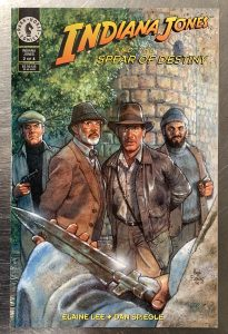 , REVIEW: Indiana Jones and the Spear of Destiny, The Indie Comix Dispatch