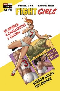 Indie comic reviews, REVIEW: Fight Girls #2, The Indie Comix Dispatch