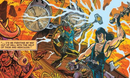 REVIEW: Gods of Brutality #1