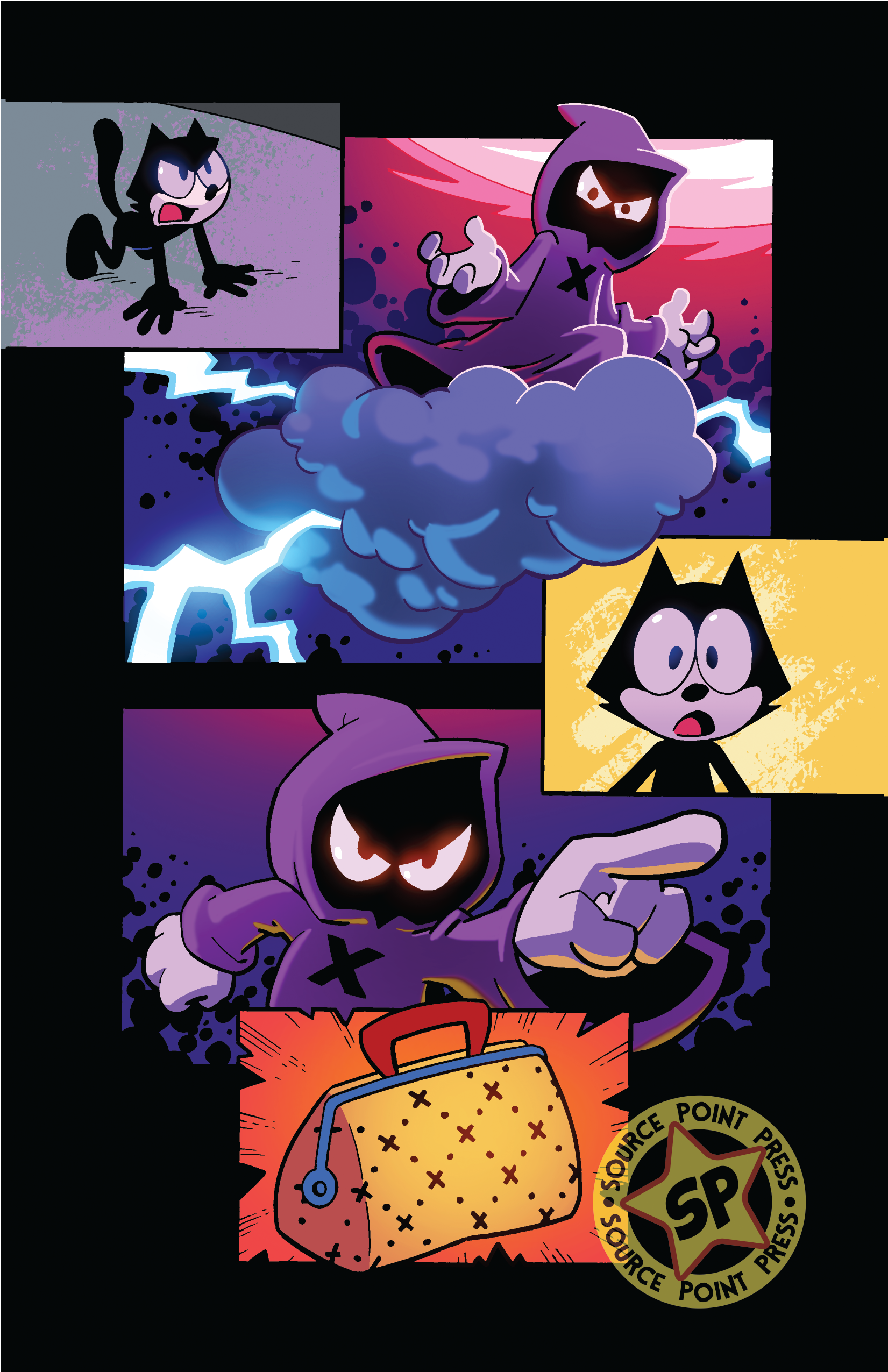 , Felix the Cat launches new comic series from Source Point Press and DreamWorks<br>Animation, The Indie Comix Dispatch